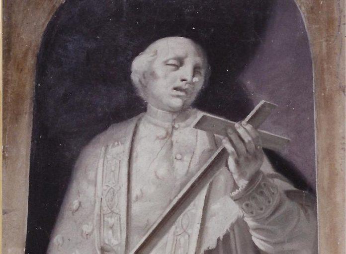 Dipinto del Beato Oddino nella Chiesa dei Battuti Neri