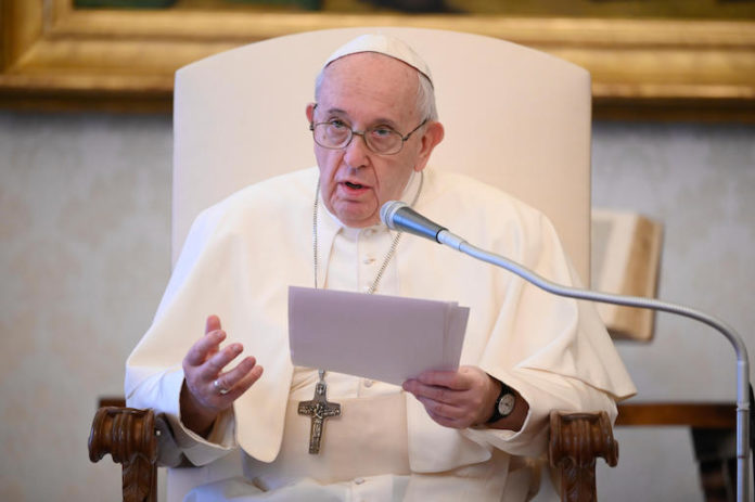 Papa Udienza Generale 20maggio