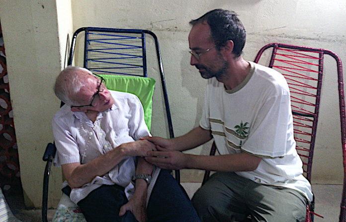 Don Damiano Raspo e dom Pedro Casaldaliga