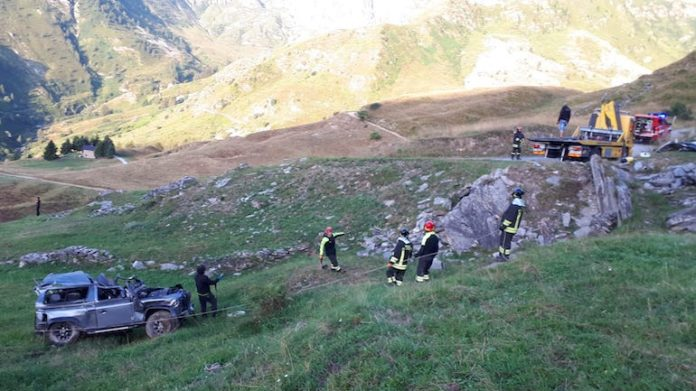 San Magno Luogo Incidente con 5 morti