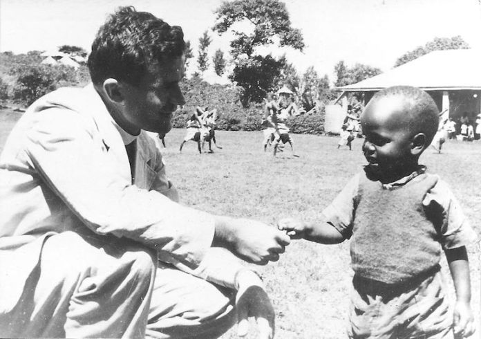 Eandi don Luigi in Africa