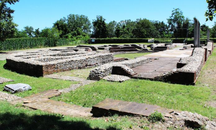 Visite guidate al sito archeologico di Bene Vagienna, dove vi sono i resti dell'antica Augusta Bagiennorum