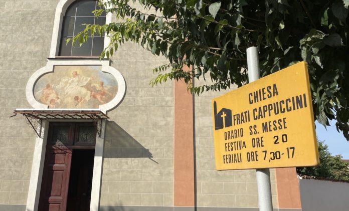 chiesa dei frati Cappuccini a Fossano