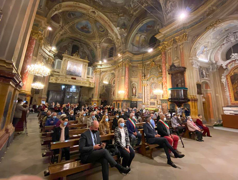 Centallo Gerbaudo don Stefano translazione