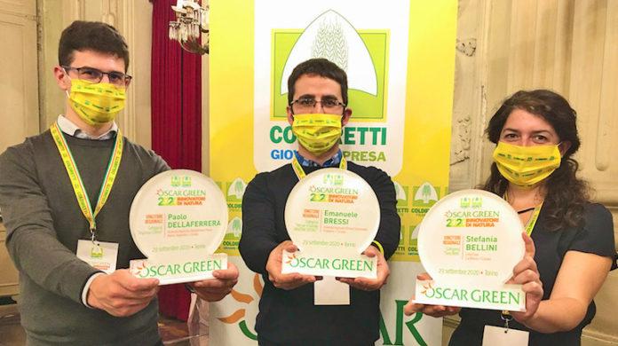 Premiati cuneesi Oscar Green