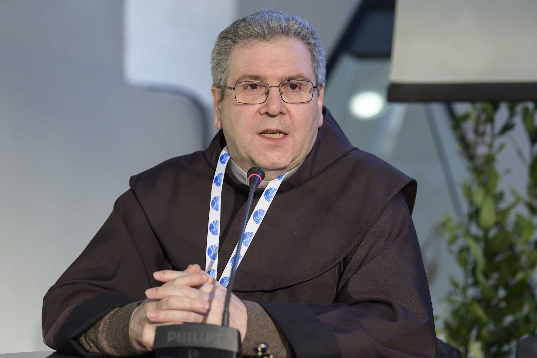 """Bari, 20 febbraio 2020 Cei, Conferenza Episcopale Italiana """"Mediterraneo frontiera di pace"""" conferenza stampa Francesco Patton"""