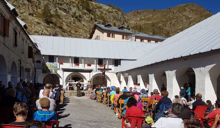 Sant'Anna Di Vinadio Pellegrinaggio Guarigione 3