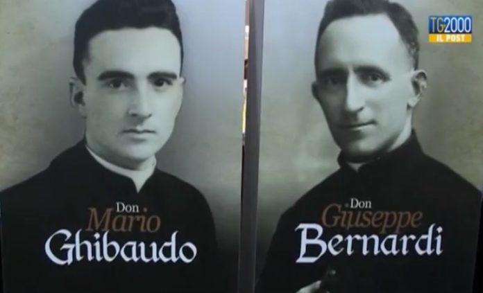 Don Giuseppe Bernardi E Don Mario Ghibaudo