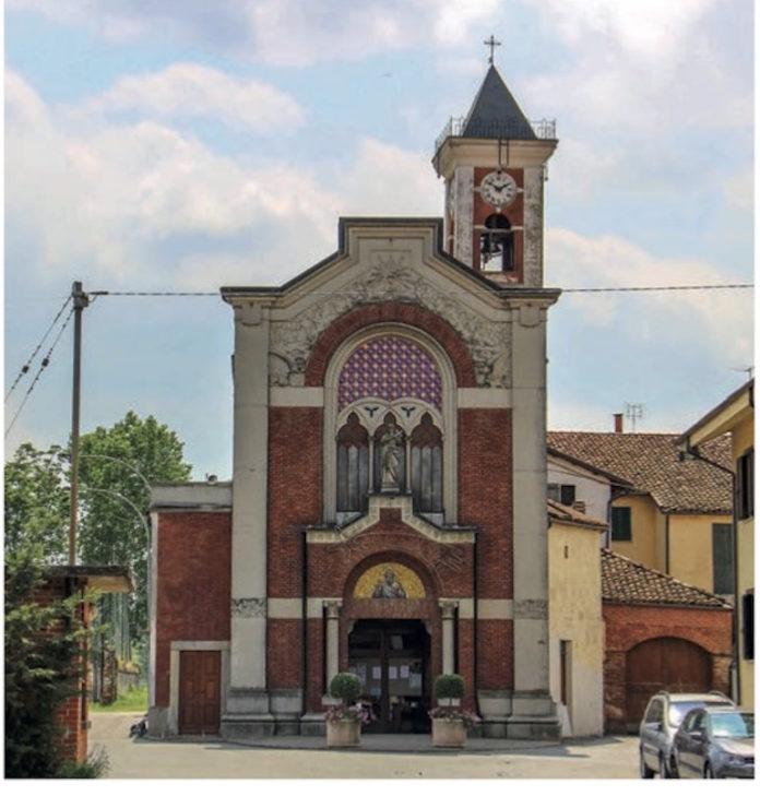 maddalene, la chiesa parrocchiale
