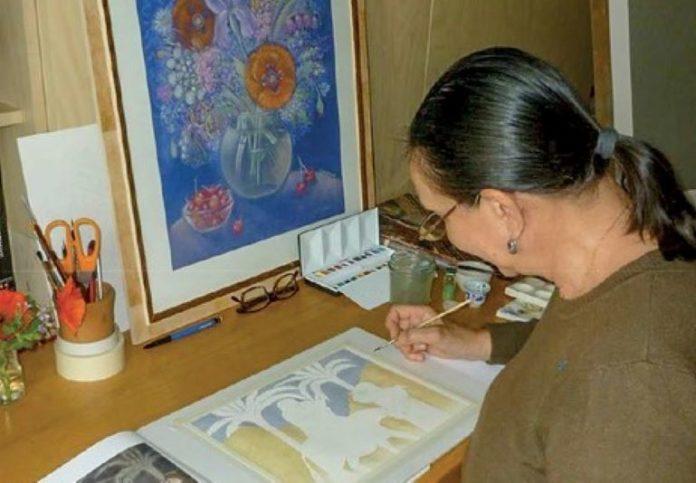 Nadia Lavrova espone in San Giovanni