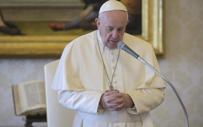 Papa Preghiera 25mar