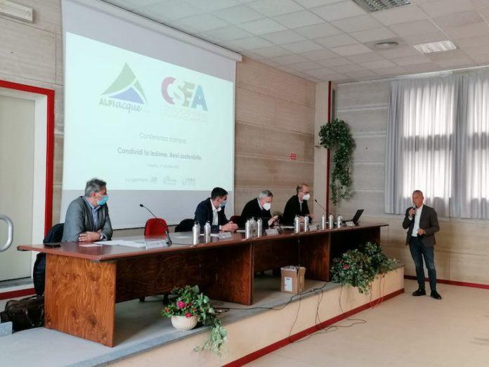 Conferenza stampa Csea Alpi Acque