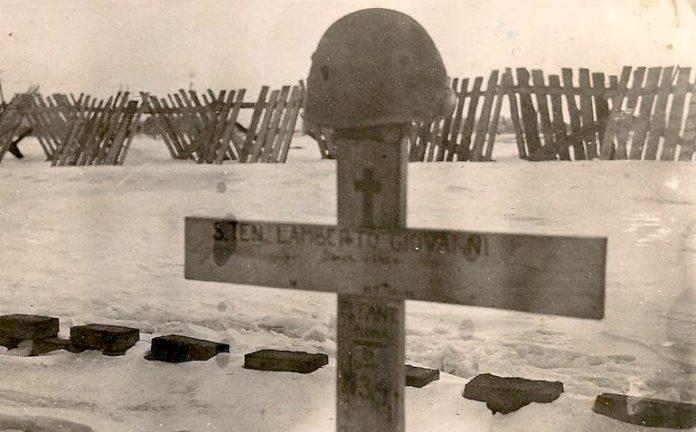 Tomba di Lamberto Cimitero Gorlowka (Ucraina)