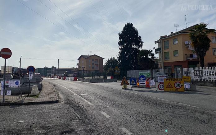 Via Circonvallazione rotonda Fossano