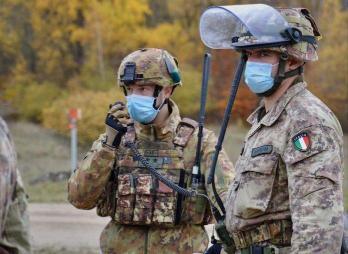 addestramento esercito