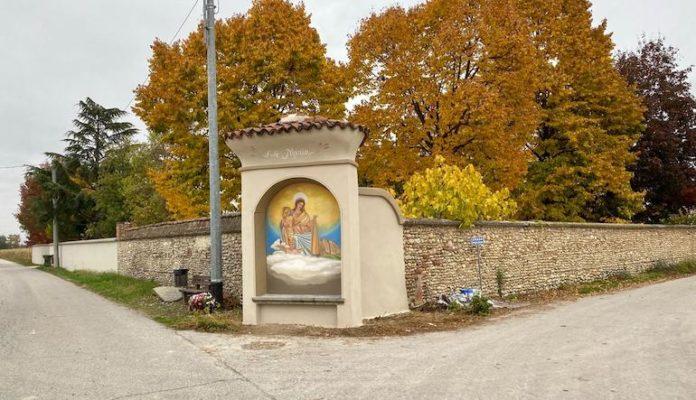 Centallo pilone Madonna del Carmine