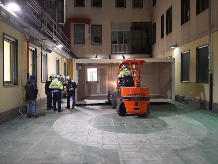 Pronto Soccorso Cuneo container
