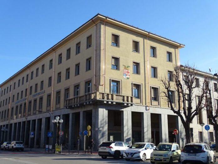 Cuneo, palazzo della Provincia