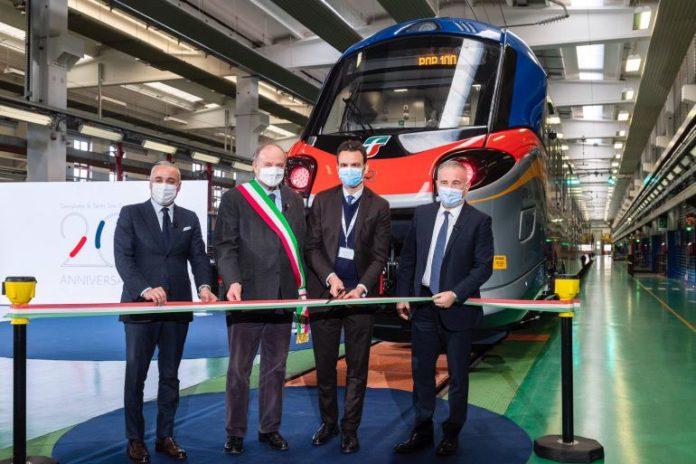 Alstom festeggia i vent'anni dal suo insediamento a Savigliano