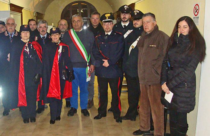 Centallo Carabinieri cittadinanza onoraria