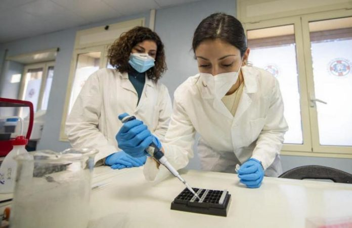 Coronavirus Test Laboratorio