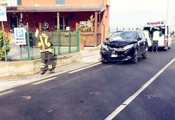Incidente stradale a Tagliata di Fossano