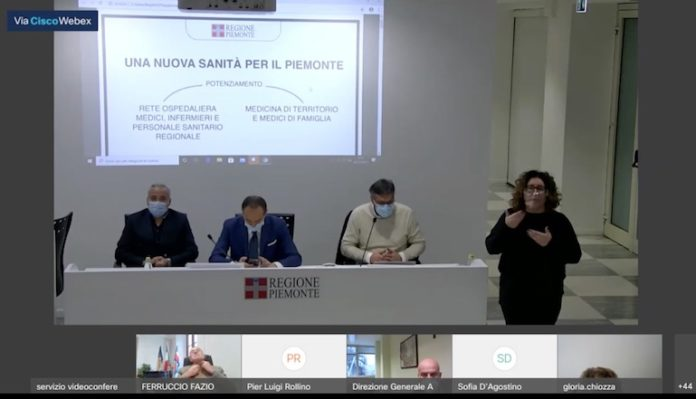 Conferenza stampa Regione riforma medicina territoriale