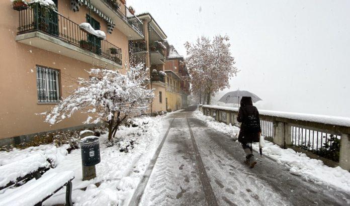 Nevicata Fossano