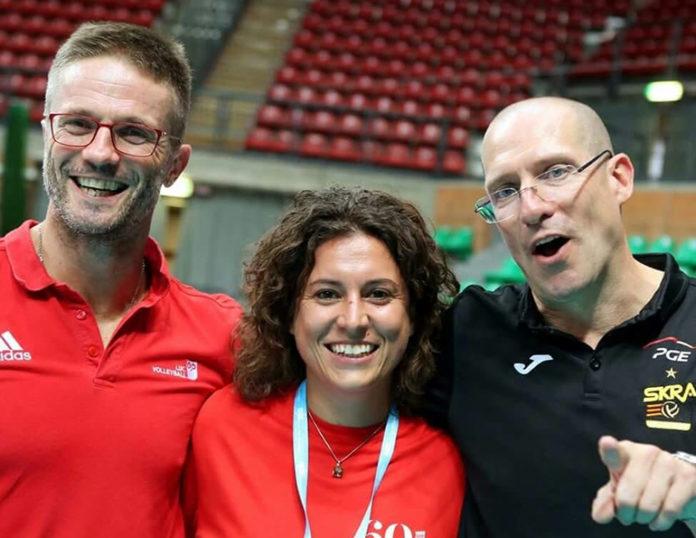 Silvia Canale con Massimiliano Giaccardi e coach Roberto Piazza (Foto Ignazio Genesio)