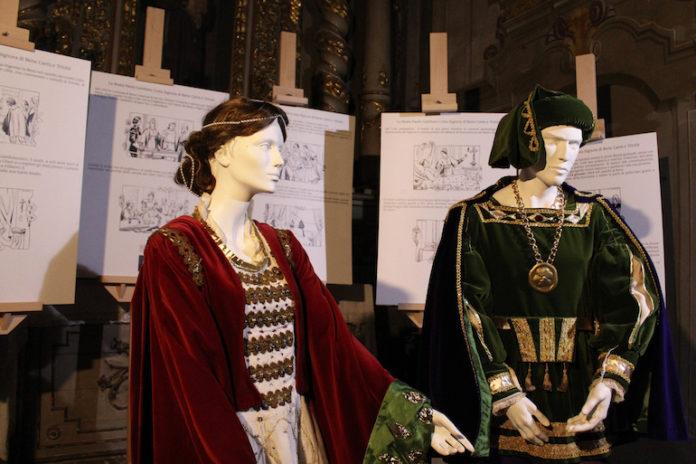 Nella chiesa di San Francesco, esposto il costume della beata Paola, patrona di Bene Vagienna