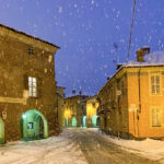Nevicata a Fossano