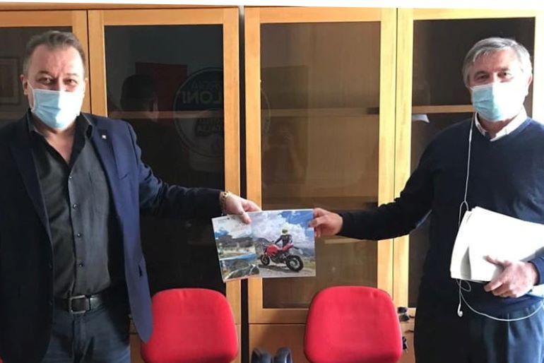 Bongioanni e Marin presentano proposte per le strade bianche del Piemonte