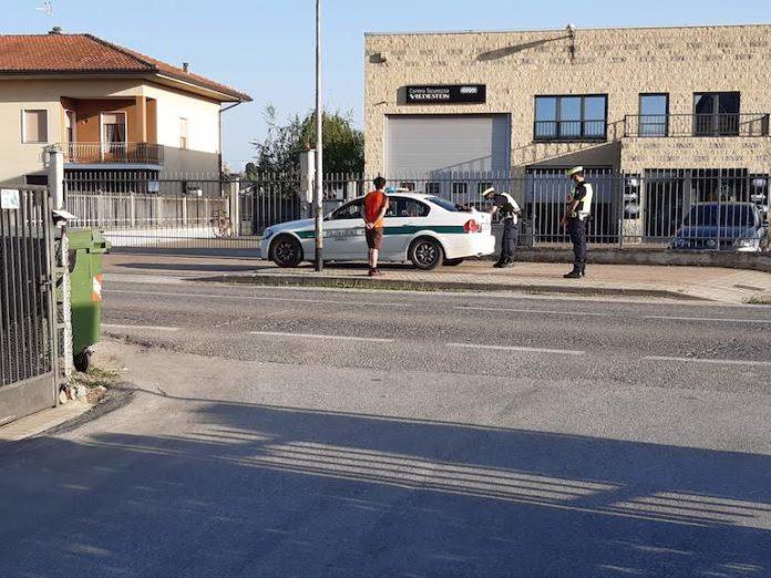 Centallo, Polizia locale