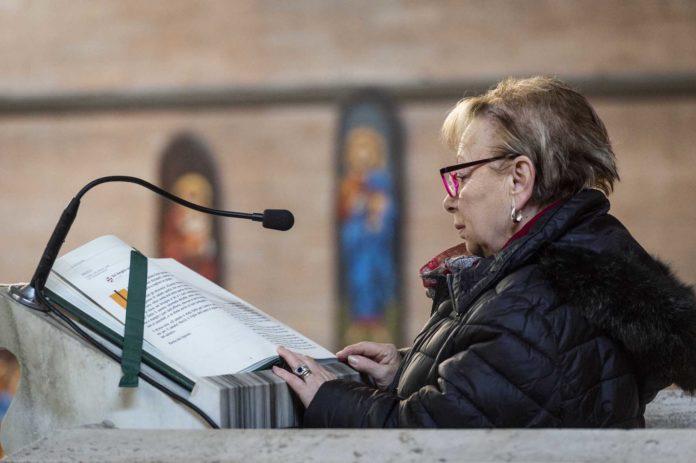 Roma, 22 gennaio 2020. Lettori della Parola di Dio