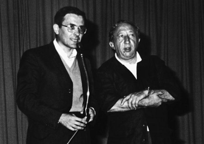 Don Vittorio Bordiga e don Luigi Giussani a Cuneo nel 1977