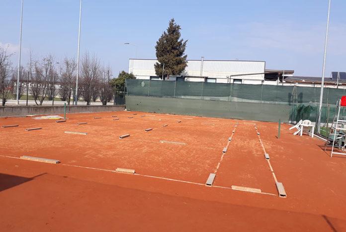 Centallo tennis viale Liberazione