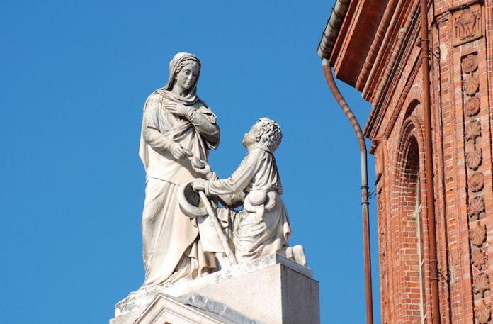 Cussanio Madonna E Bartolomeo