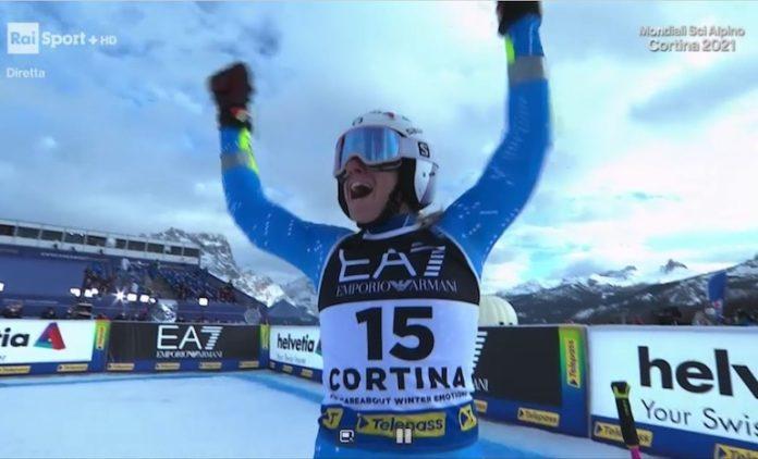Marta Bassino Oro Mondiale a Cortina