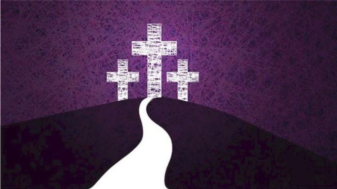 Quaresima Calvario Croce