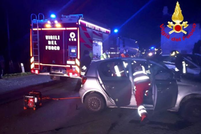 Incidente stradale a Termine di Villafalletto