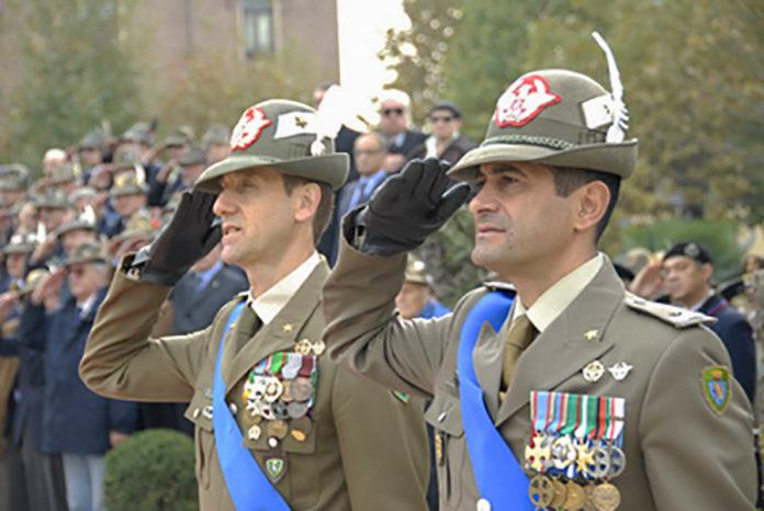 Brigata Taurinense Figliuolo e Ranieri cambio al comando 2011