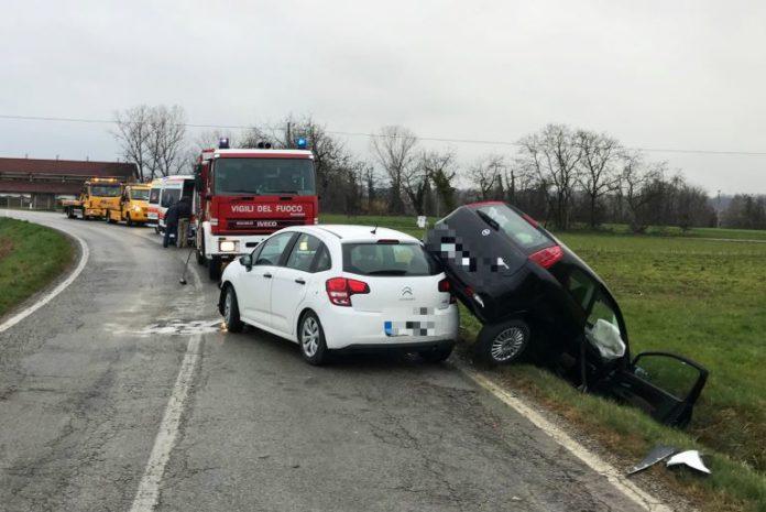 Incidente stradale a Bene Vagienna