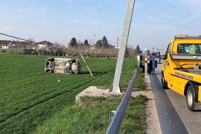 Incidente stradale a Genola