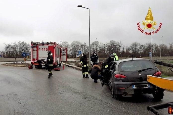 Incidente stradale, a Fossano in via Villafalletto