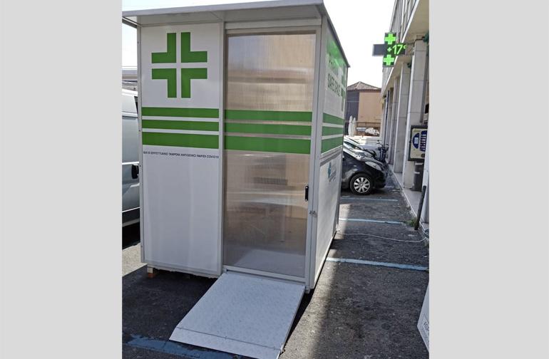 Villa Peraria Pharma Safe Space Progetto