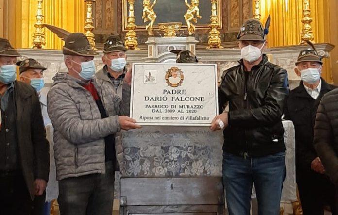 Murazzo targa Padre Falcone