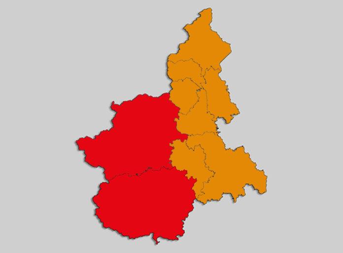 Piemonte Province Rosso Arancio