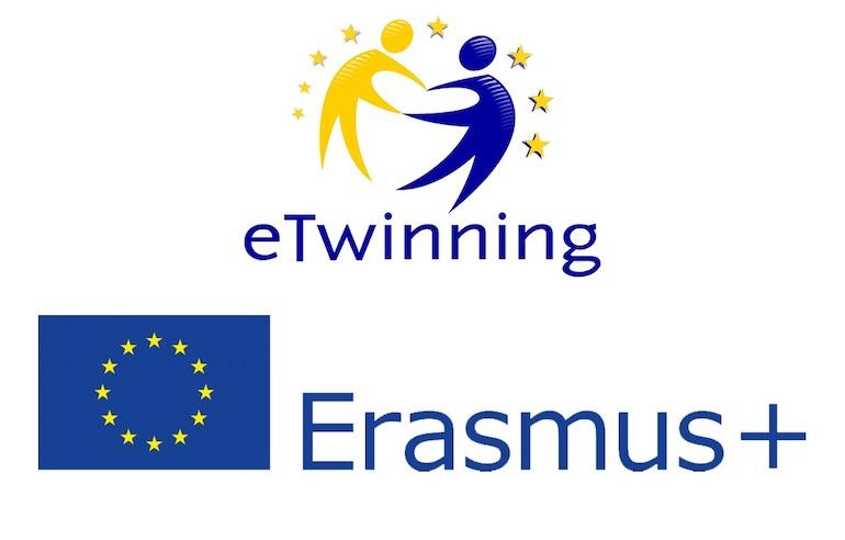 Vallauri ETwinning Erasmus Logo
