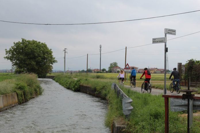 aria aperta bici percorso