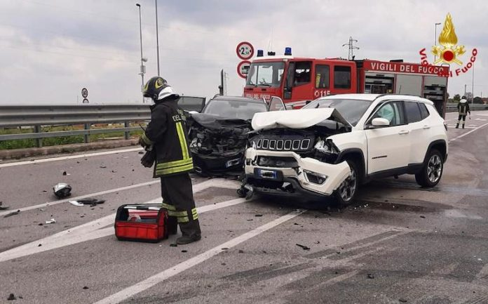 Incidente stradale San Sebastiano